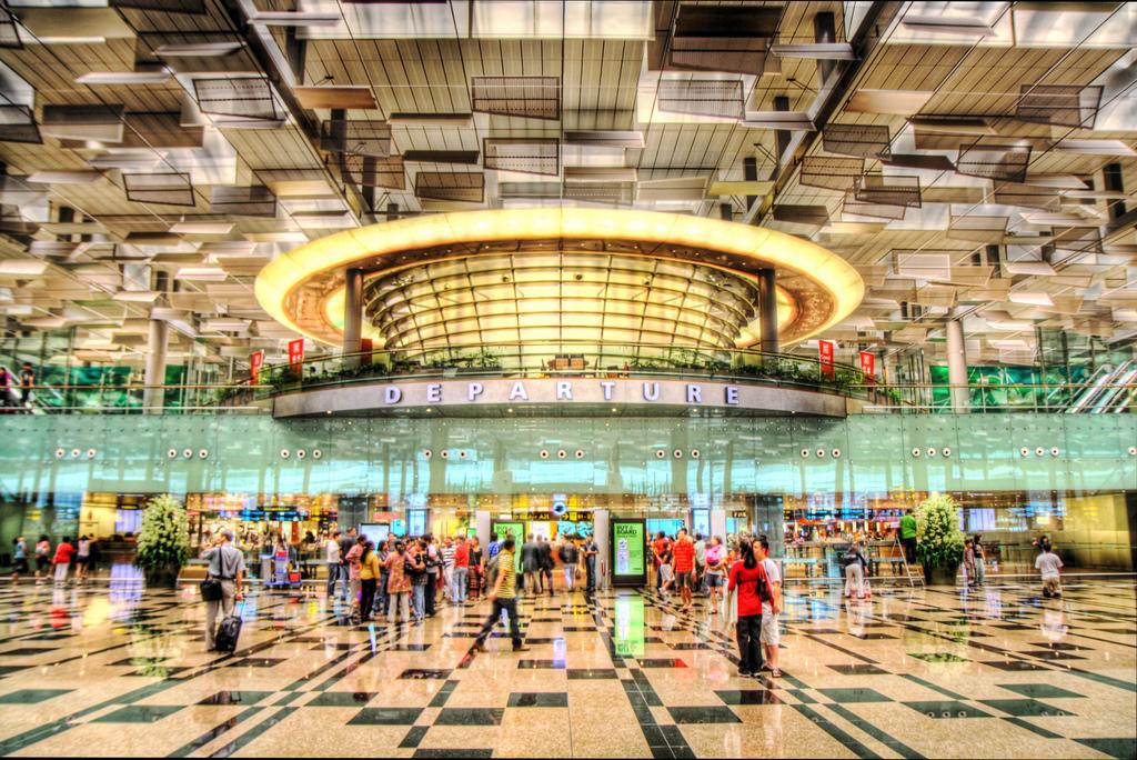 Kết quả hình ảnh cho Changi Airport Singapore